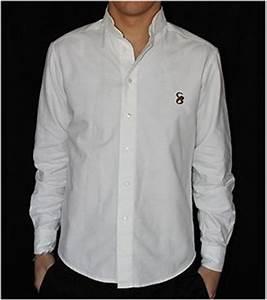 Chemise Sans Col Homme : chemise homme col officier ~ Louise-bijoux.com Idées de Décoration