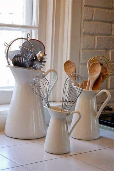 ideas  kitchen utensil storage  pinterest
