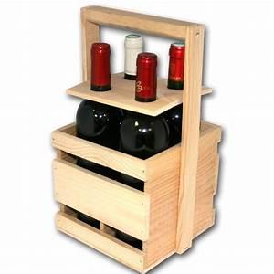 Range Bouteille Bois : panier bois 4 bouteilles achat vente range bouteille panier 4 bouteilles cdiscount ~ Teatrodelosmanantiales.com Idées de Décoration
