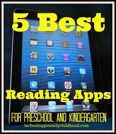 five best reading apps for pre k and kindergarten 914 | d230624cc160d8e4a0d9ac31dad50be5