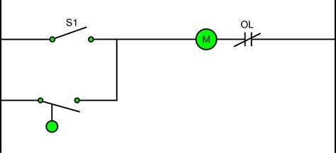 two wire three wire motor control circuit motor control circuit diagram electrical a2z
