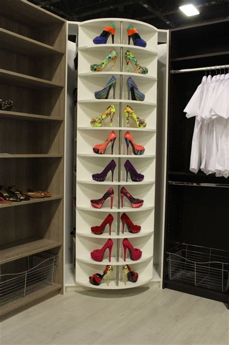 Revolving Closet by 360 Degree Revolving Closet Organizer Transitional