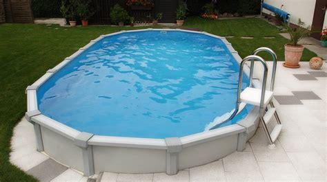 pool oval stahlwand stahlwand becken sun remo geeignet f 252 r jeden garten