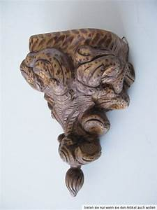 Holz Ornament Wand : gro e alte massiv holz barock ornament schnitzerei wand prunk konsole antik top ~ Whattoseeinmadrid.com Haus und Dekorationen