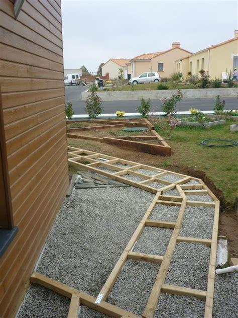 nivrem com materiel pour terrasse en bois sur pilotis