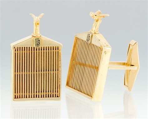 Rolls Royce Cufflinks by A Pair Of 14k Gold Rolls Royce Cufflinks 09 07 12 Sold