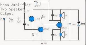 sirsak buat siapa saja rangkaian elektronika sederhana With mono power amplifier a1015 bd140 tip2955 circuit diagram