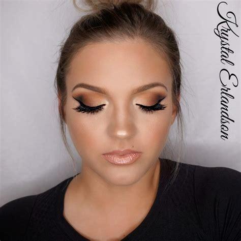 Gradiant Brown Smokey Eye Makeup Tutorial By Krystal Erlandson Makeup Geek Eyeshadow In Ameri