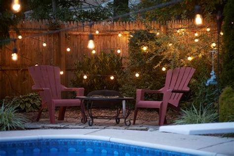 string lights pool 25 best images about pool and patio on string