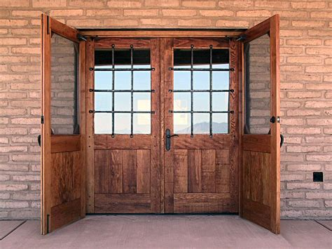 rustic doors  security grills wgh woodworking