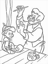Pinocchio Coloring Pages Disney Printable Bright Choose Colors Favorite sketch template