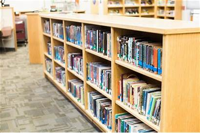 Library Bookshelves Middle Renew Checkout Weeks Items