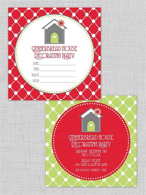 christmas party invitations hgtv