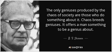 skinner quote   geniuses produced