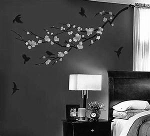 Decorative Wall Painting Ideas For Bedroom bedroom white ...