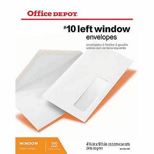 beautiful 10 envelope window template adornment resume With 5x7 envelopes office depot
