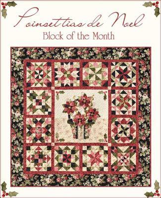 shabby fabrics block of the month the shabby a quilting blog by shabby fabrics poinsettias de noel bom a shabby fabrics