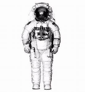 Space Suit Outline - Pics about space