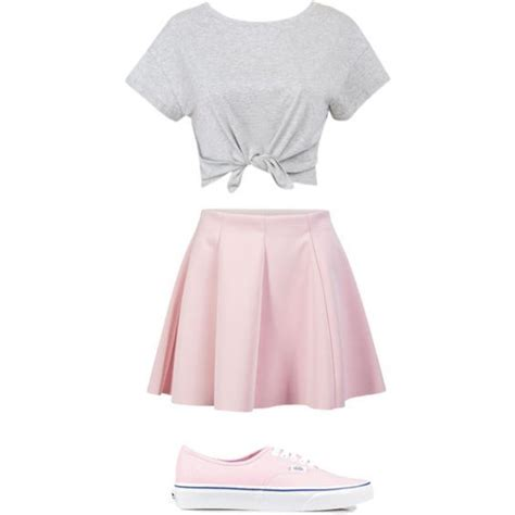 How to wear a pink skirt at school | School Nice and ...