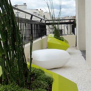 mirosmesnil amenagement d39un balcon contemporain With amenagement de jardin contemporain 9 amenager un balcon en ville detente jardin