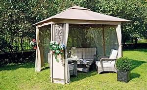 Sonnenschutz Für Garten : der richtige sonnenschutz mit pavillon hornbach luxemburg ~ Markanthonyermac.com Haus und Dekorationen
