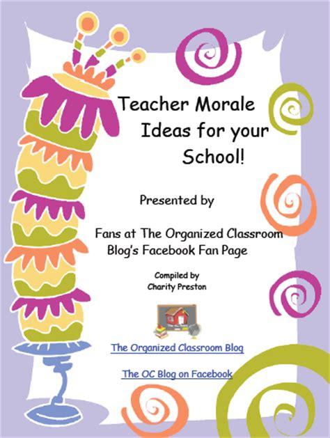 boost teacher morale  ideas  education world
