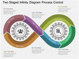 Qx Two Staged Infinity Diagram Process Control Flat Powerpoint Design