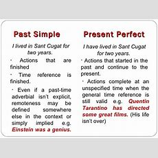 Present Perfect & Past Simple Presentation