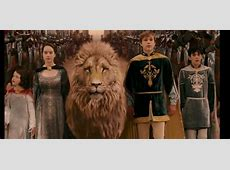 The Lion, the Witch, and the Wardrobe The coronation