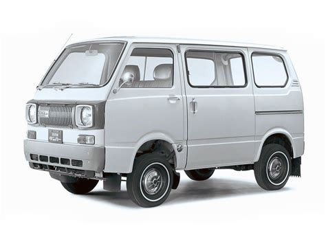 Subaru Sambar (van Model Based On 360 Kei Car)