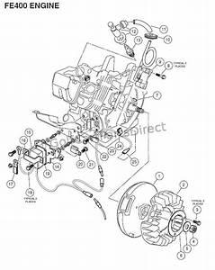 Engine  Fe400  Key-start