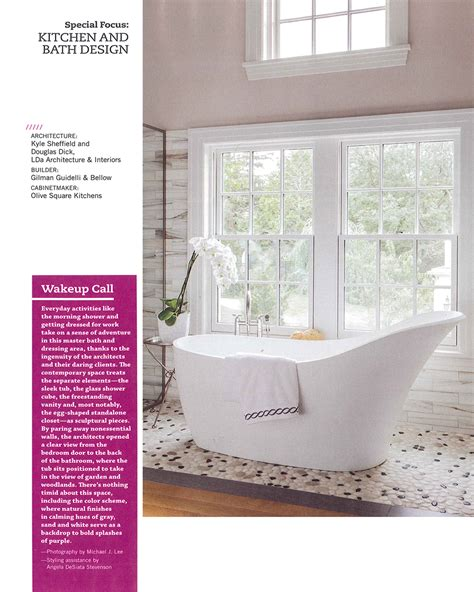 special focus kitchens and baths from the september u2013 october special focus kitchen and bath design lda architecture