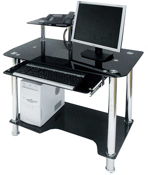 Computer Desk With Drawers by Black Computer Desk With Drawers Review And Photo