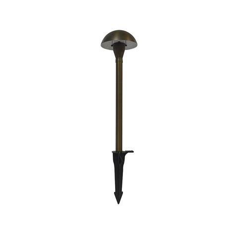 integrated led outdoor lighting low voltage 1 2 watt remington bronze outdoor integrated