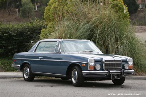 The very popular w114 model line of executive cars was styled by paul bracq as luxurious every day vehicles. 1972 Mercedes-Benz 250C - Information and photos - MOMENTcar