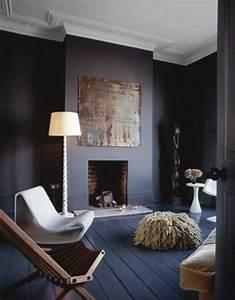 le gris anthracite en 45 photos d39interieur plafond With peindre son salon en gris et blanc 5 comment associer les couleurs dinterieur simulateur de