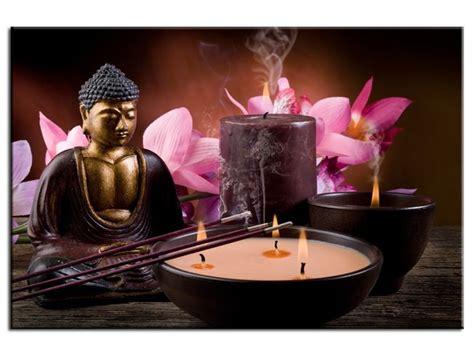 tableau chambre b tableau design bougie et encens toile et feng shui