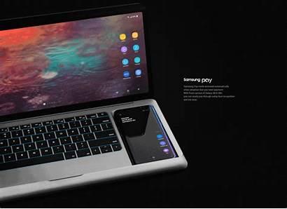 Dex Samsung Concept Laptop Smartphone Portable Notebook