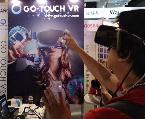 指先にはめるvr向け触感デバイス「go Touch Vr」体験レポ:computex Taipei 2018  Engadget 日本版