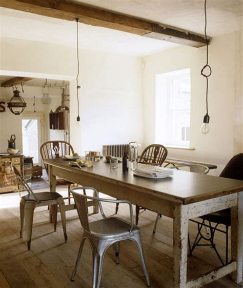 rustic dining the style files