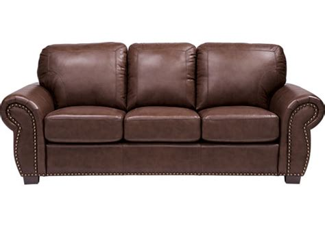 rooms to go leather sofa and loveseat 999 99 balencia dark brown leather sofa classic