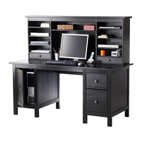 solid wood computer desk l shaped computer desk with hutch ikea woodworking projects plans