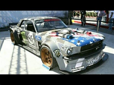 hoonigan mustang twin turbo hoonigan ken blocks 1965 1400hp hoonicorn v2 mustang