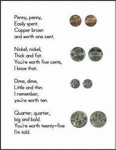 Canadian Penny Value Chart Money Poem Including Real Pictures Of A Penny Nickel
