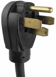 Rv Power Cord Adapter  50a Male To 30a Female Coleman