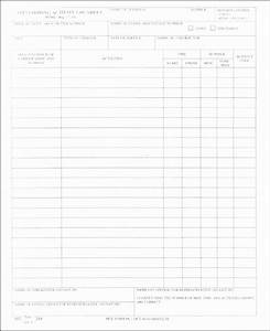 6 daily work log templates sampletemplatess With daily work record template