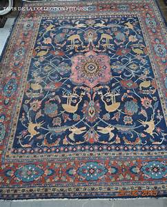 grand tapis mahal ancien iran 3 500 00 reference aim10098 With tapis persan avec recherche canapé d angle