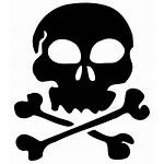 Skull Clip Svg Silhouette Pirate Printable Onlinelabels