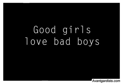 Quotes About Liking Bad Boys