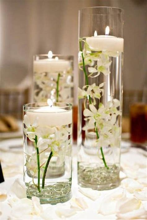 impossibly romantic floating wedding centerpieces